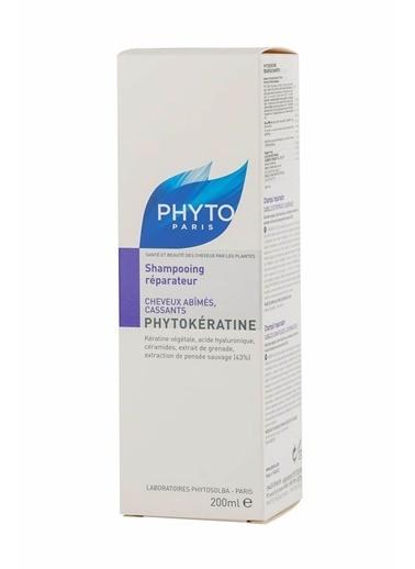 PHYTO Phytokeratine Repairing Shampoo -  Zayıf Saçlar İçin Bakım Şampuanı 200 ml Renksiz